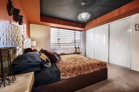 Decoración de dormitorio moderno