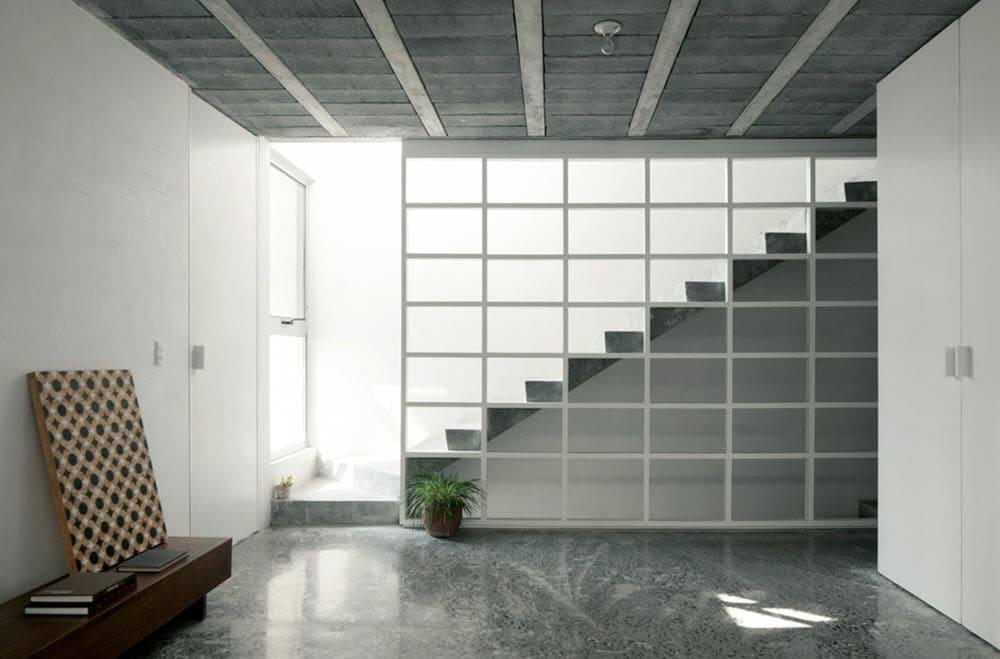 Planos casa dos pisos 9 x 20 de hormig n construye hogar for Planos de escaleras de hormigon