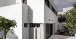 Casa de hormigón minimalista