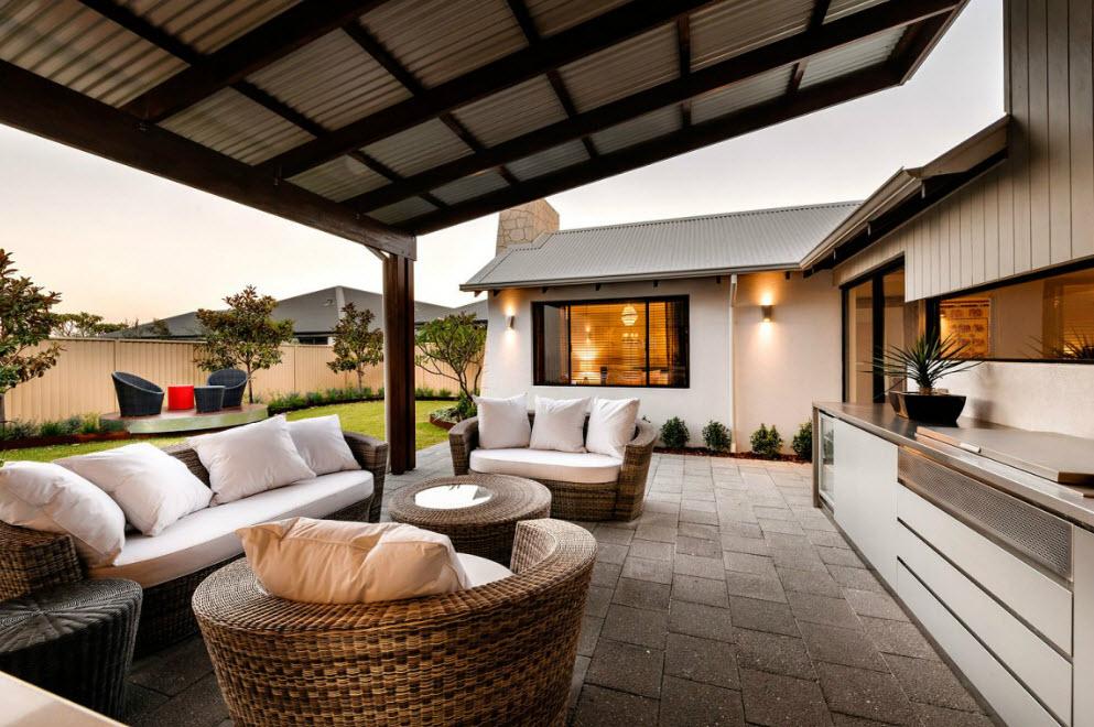 Diseño De Fachada E Interiores Casa Un Piso