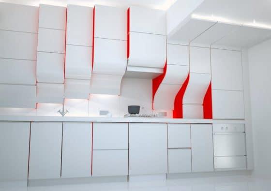 Diseño muebles de cocinas modernos