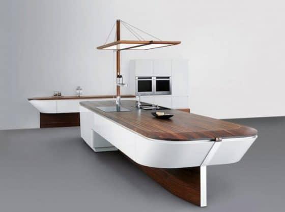 Muebles de cocina para casa de playa