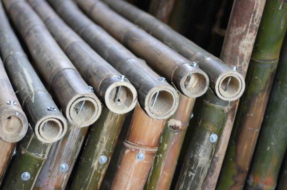 Construcción con bambú