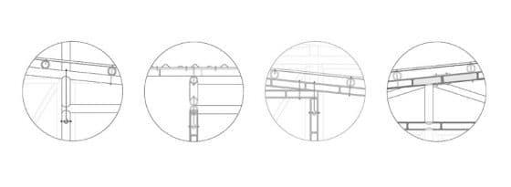 Gráfico estructuras de bambú