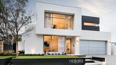 Photo of Casa moderna de dos pisos, lineas de diseño sencillas y elegantes