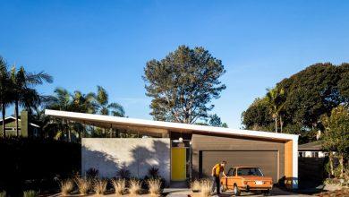 Photo of Diseño de casa moderna de un piso, estructura combina armoniosamente el hormigón y la madera