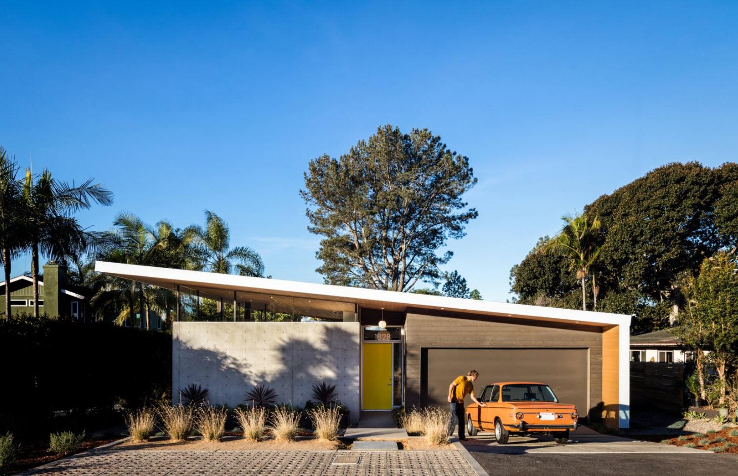 Casa de un piso y tres dormitorios construye hogar for Casa moderna hormigon