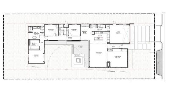 Plano casa 1 piso