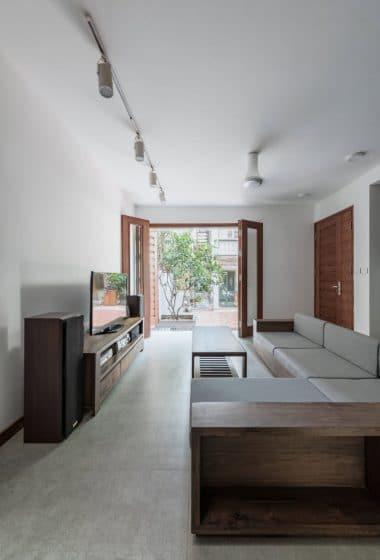 Diseño sencillo de sala estar