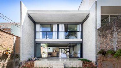 Photo of Diseño casa económica de dos pisos, construcción con bloques de concreto y acero