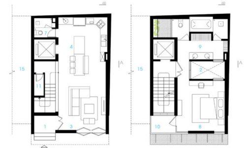 Casas econ micas construye hogar for Planos de casas economicas
