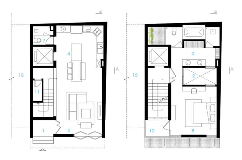 Idea Para Construir Casa Terreno Peque O