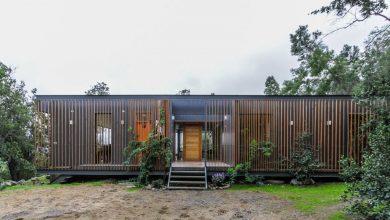 Casa de campo estructura acero