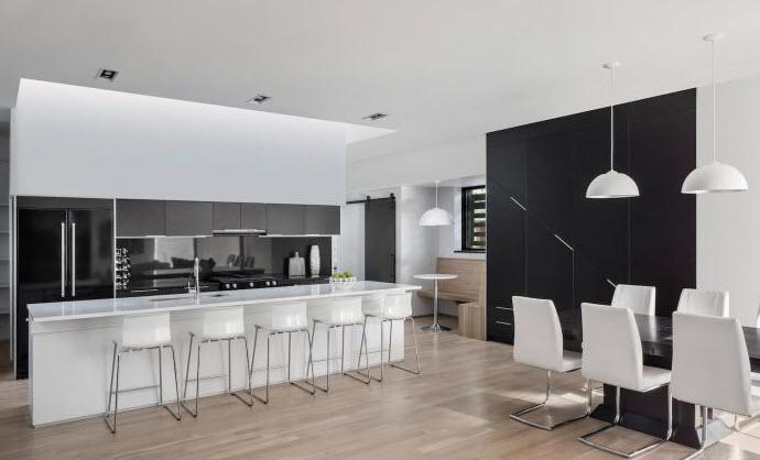 Planos casa dos pisos tres dormitorios for Diseno cocina comedor