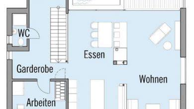 Photo of Planos de casa de dos pisos autosustentable, confortables ambientes interiores que utiliza nuevas tecnologías