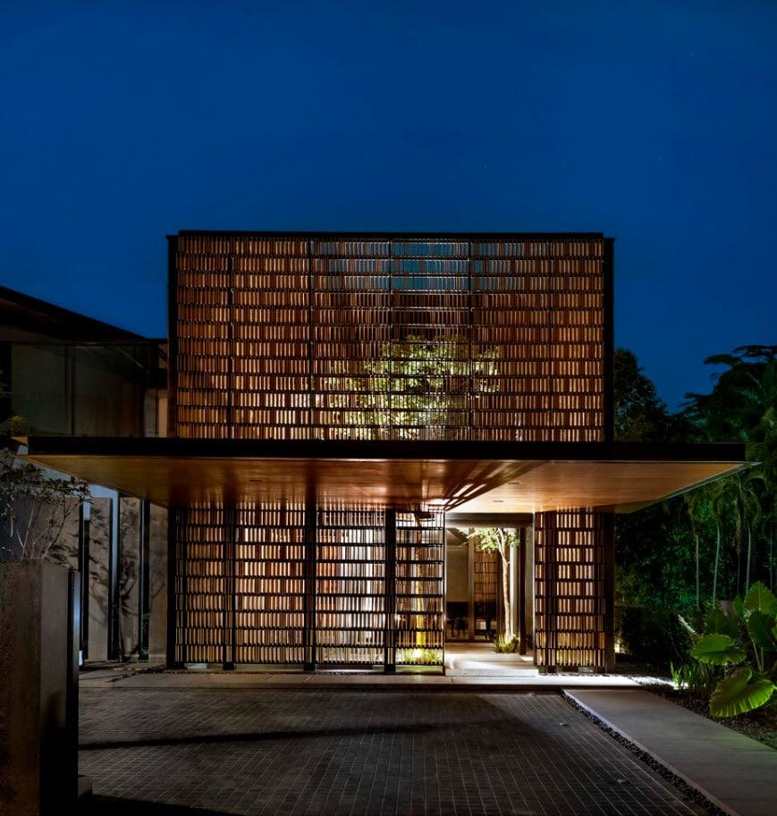 Dise O Casa Moderna Terreno Triangular Construye Hogar