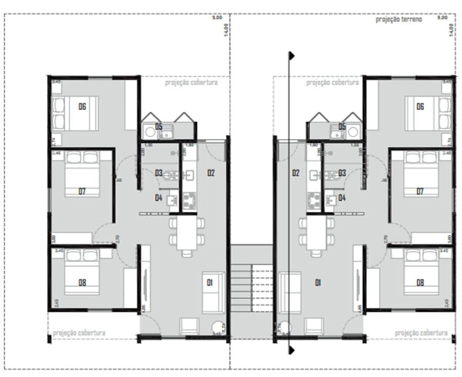 Planos de casa econ mica de uno y dos pisos construye hogar - Planos de casas modernas de una planta ...