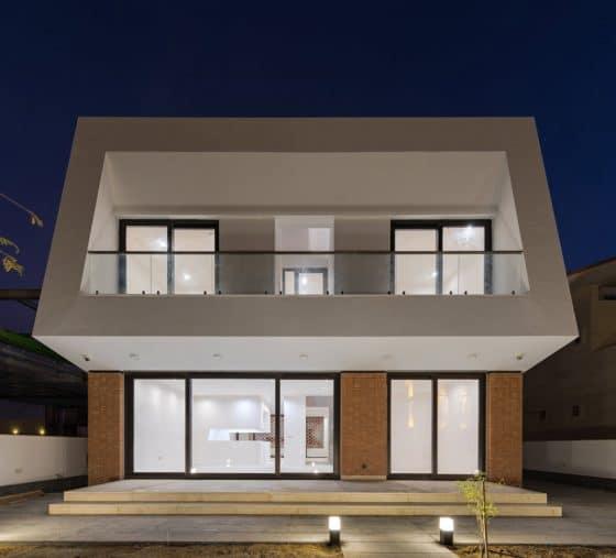 Dise o y planos casa moderna de dos pisos for Planos para casas de dos pisos modernas