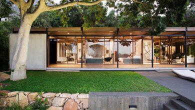 Photo of Diseño de moderna casa de montaña con impresionante vista a la ciudad