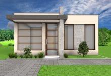 Photo of Idea de diseño de casa moderna de un piso, diseño armonioso y sencillo
