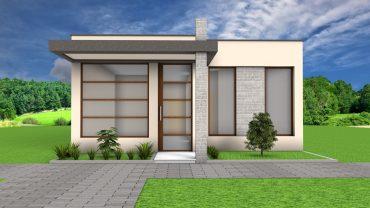 Planos de casa de 70 M2