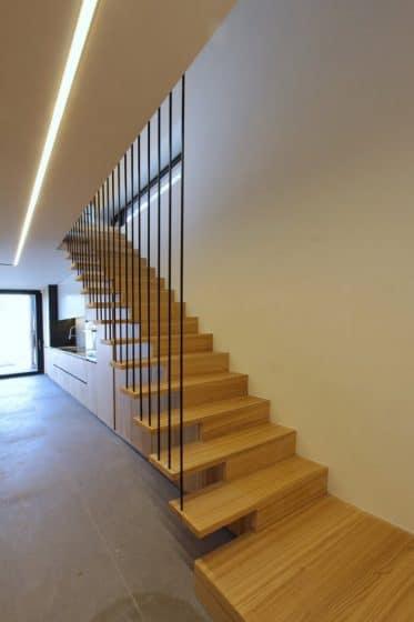Diseño escaleras modernas madera