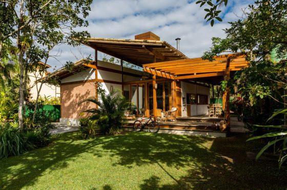 Diseño casa selva madera climas cálidos