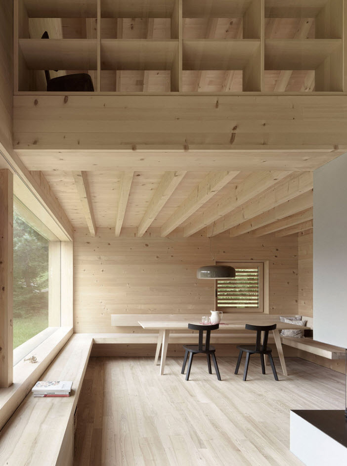 Casa de campo construida con madera construye hogar - Casas de campo madera ...