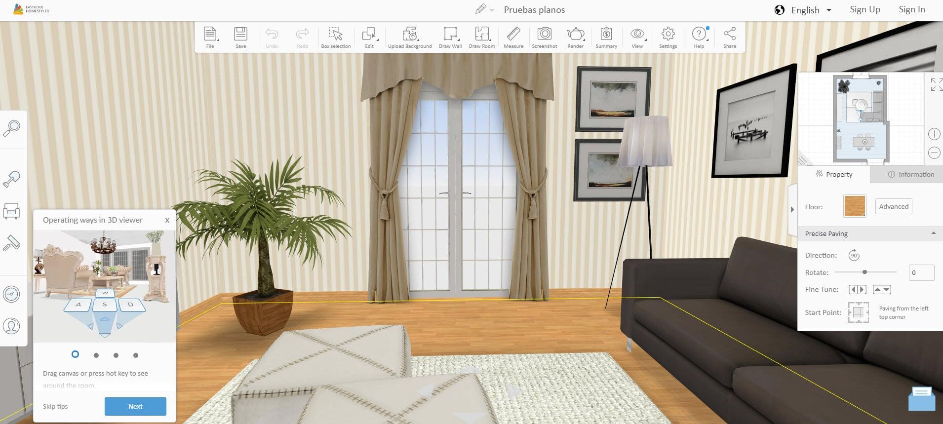 10 aplicaciones dise o de planos e interiores construye for Diseno de interiores de casas planos