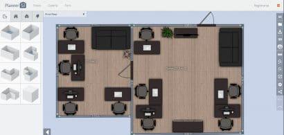 Planner5D app diseño planos de casas