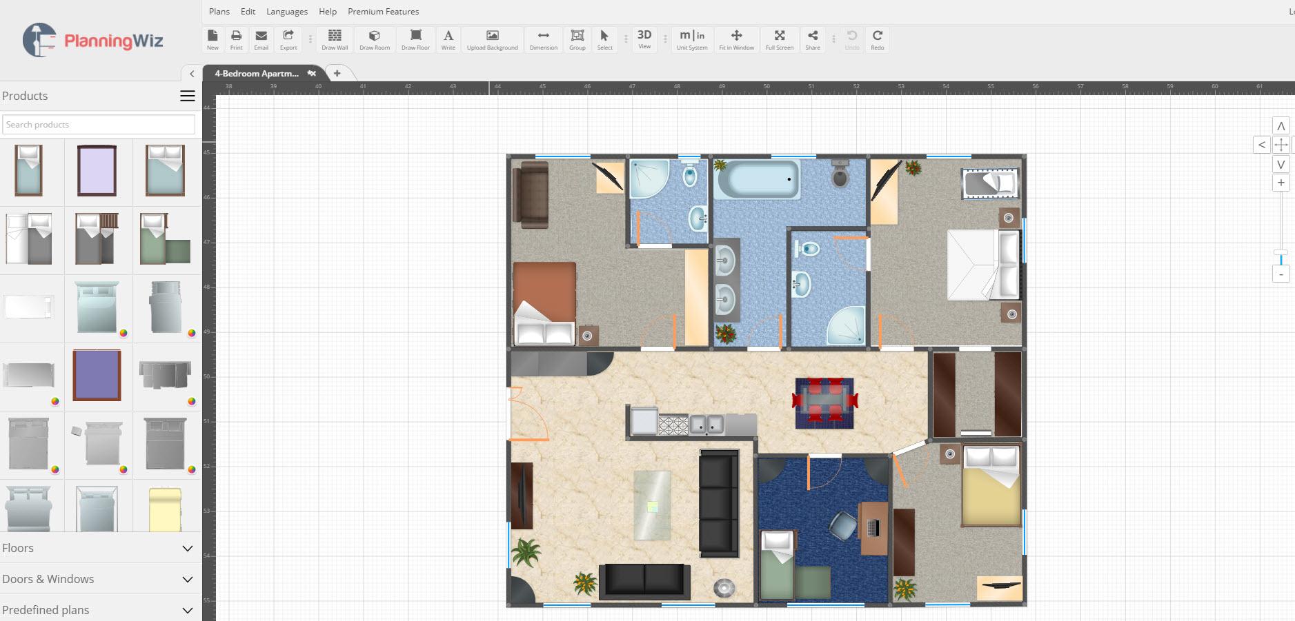 10 aplicaciones dise o de planos e interiores for Diseno de planos