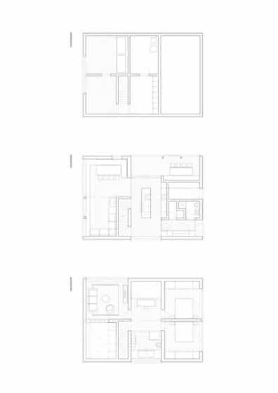 Planos casa de campo