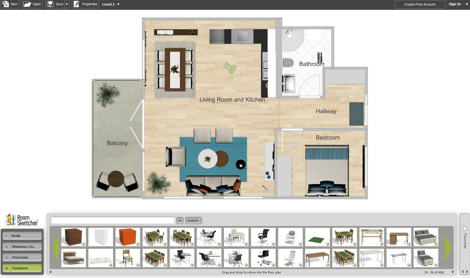 10 aplicaciones dise o de planos e interiores construye for Hacer plano casa online