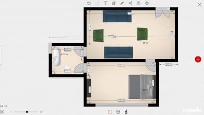 Roomle aplicación planos de casas