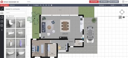 Space Designer 3D hacer planos online