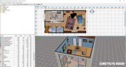 SweetHome 3D programas para hacer planos de casas