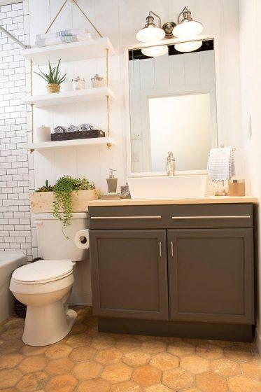 Construye tu propio cuarto de baño pequeño