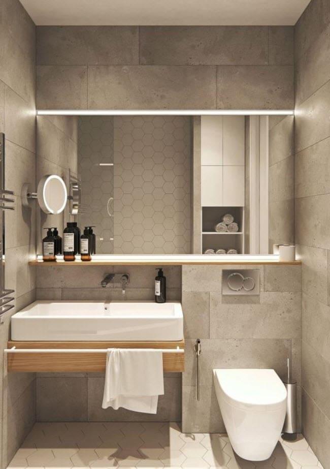 Dise o de cuartos de ba o minimalistas for Cera de hormigon para azulejos de bano