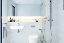 Photo of Cuartos de baño estilo minimalista, es tendencia de decoración [Fotos]