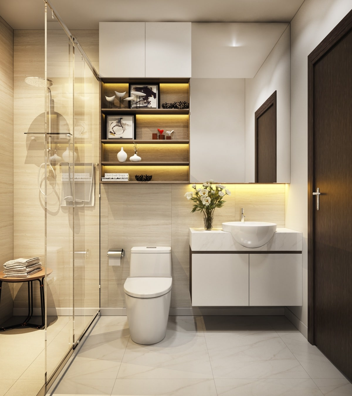 Dise o de cuartos de ba o minimalistas - Ideas para cuarto de bano ...