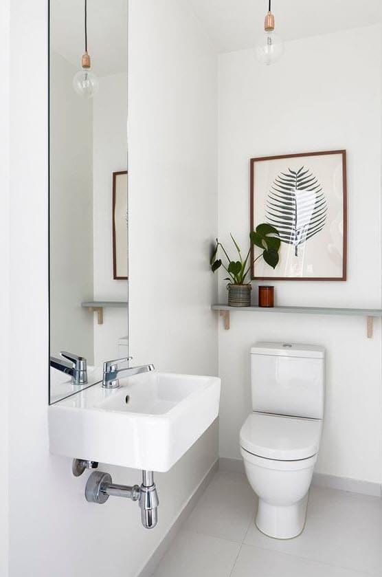 Dise o de cuartos de ba o minimalistas for Distribucion cuarto de bano pequeno