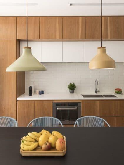 Diseño de cocina sencilla de madera