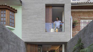 Idea de diseño casa angosta