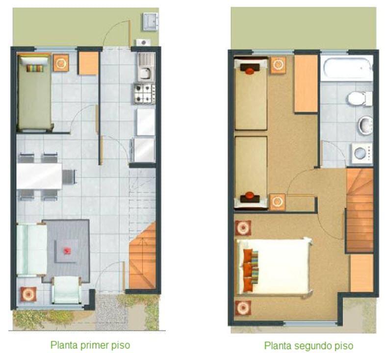 Planos De Casas Ideas De Diseno Para Construir - Planos-de-casas-de-una-planta-pequeas