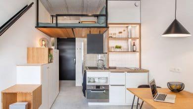 Photo of Idea de mini departamento de solo 18 metros cuadrados, especial para estudiantes
