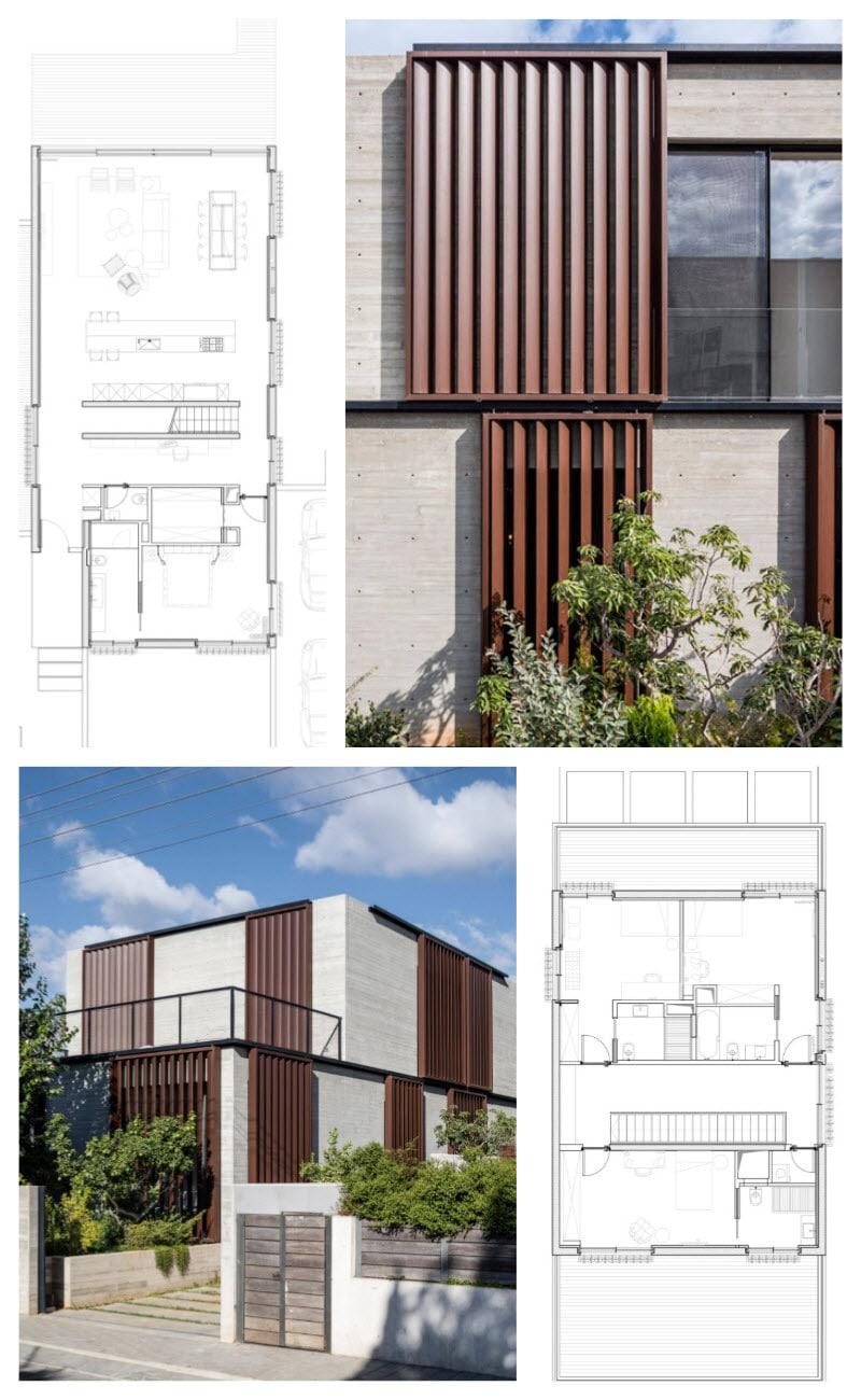 Diseño de planos de una casa segura