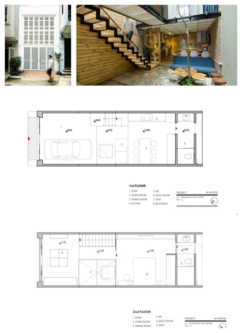 10 hermosas casas de dos pisos con dise o de planos for Diseno de planos