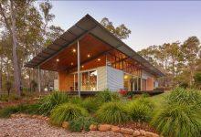 Photo of Diseño de casa rural ecológica, preparada para abastecerse con los elementos de la naturaleza