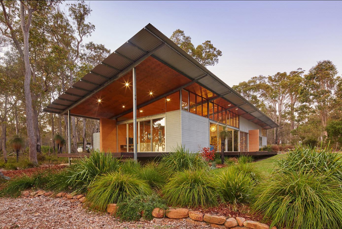 Diseño De Casa Rural Ecológica Preparada Para Abastecerse Con Los Elementos De La Naturaleza Construye Hogar