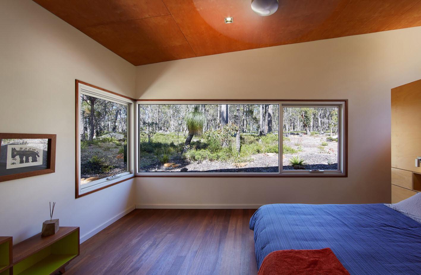 Diseño de dormitorio casa rural